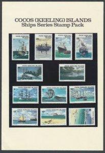 Australia  Cocos Keeling Islands Ships 1976 SG20-31  MNH Stamp Pack SC# 20-31...