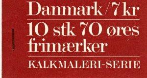 Denmark #530a Complete Booklet  CV $35.00  (X2823)