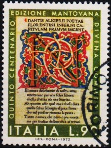 Italy. 1972 90L  S.G.1327 Fine Used