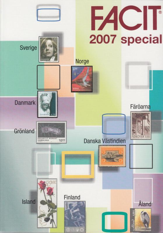 Facit 2007 Special. Specialized Scandinavia Catalog. New.