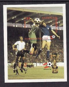 Antigua-Sc#652-unused NH sheet-Sports-World Cup Soccer-1982-