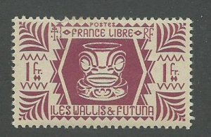 Wallis & Futuna Scott Catalog Number 133 Issued in 1944