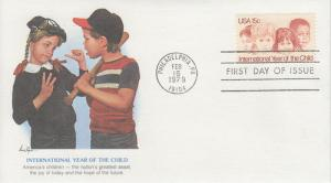 1979 Int. Year of the Child (Scott 1772) Fleetwood FDC