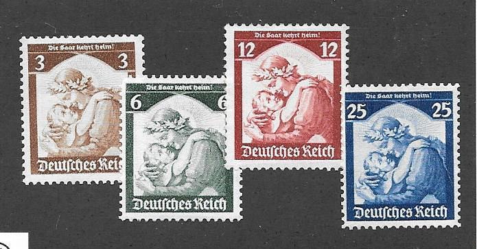 Germany #448-451 Mint NH