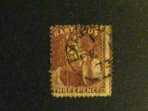 Barbados #38 used  a198.9210