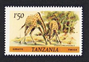 Tanzania Giraffe 1v 1Sh50 SG#314 SC#168