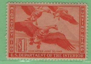 $US Sc#RW11 M/LH/VF-XF, nice Duck, Cv. $45