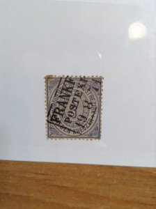 Germany  (North German Conf) SC #22  Used