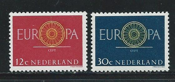 Netherlands 385-6 1960 Europa set MLH