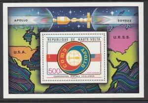 Burkina Faso C219 Space Souvenir Sheet MNH VF