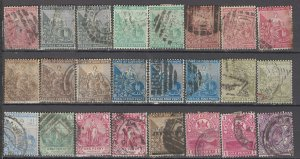 COLLECTION LOT OF #998 CAPE OF GOOD HOPE 24 STAMPS 1871+ CV+$20 CLEARANCE