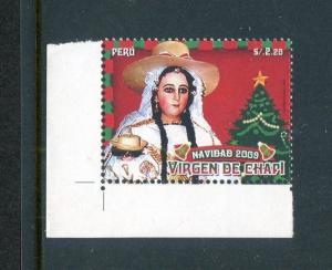 Peru 1727, MNH, Christmas 2009. x29663