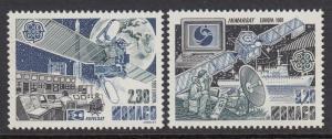 Monaco 1760-1 Europa Space Satellites mnh