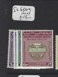 SAUDI ARABIA (P0102B)   SG 636-9   MOG