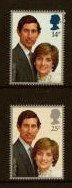 STAMP STATION PERTH Great Britain #950-951 Set of 2 MNH