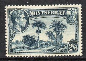 Montserrat 1938 KGVI 2/6d perf 13 SG 109 mint CV £45