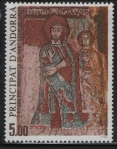 ANDORRA, 342, MNH, 1984, TWO SAINTS