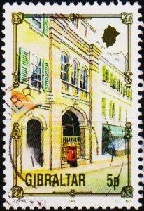 Gibraltar. 1993 5p  S.G.699 Fine Used