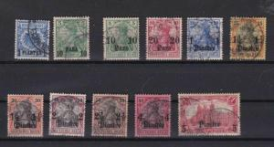 GERMAN POST OFFICES IN TURKEY , GERMAN COLONIES  STAMPS  CAT £220+   R 2324