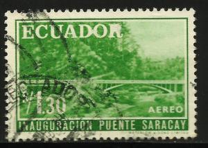 Ecuador 1960 Air Mail Scott# C368 Used