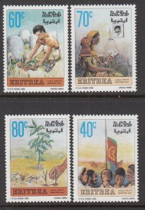 Eritrea 263-266 MNH VF