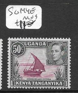 KENYA AND  UGANDA  (P0609B) KGVI 50C SG 144E  MOG