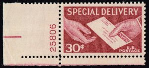 US STAMP BOB #E21 – 1957 Special Delivery 30c lake MNH/OG PL#  SUPERB