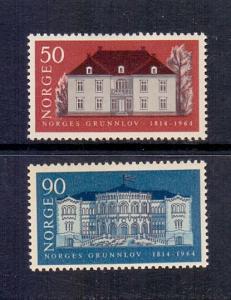 Norway 1964 MNH Norwegian Constitution   complete