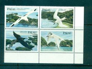 Palau - Sc# C4a. 1984 Birds.  MNH Block of 4. $3.50.