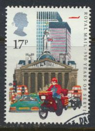 GB SG 1290 SC# 1111 - Used First Day Cancel - Postal Service