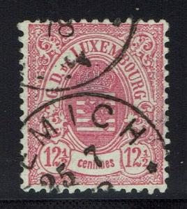 Luxembourg Scotts# 35 - Used (Small Thin) - Lot 011816