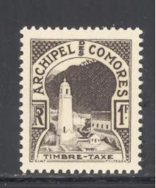 Comoro Islands Sc # J2 mint never hinged (DT)