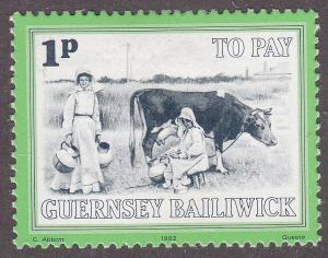 Guernsey J30  Postage Due 1982