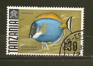 Tanzania 29 Surgeon Fish Used