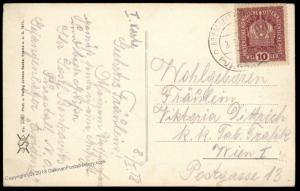 Austria 1918 WWI Purgstall Kriegsgefangenenlager Camp Evidenz POW Cover 89398