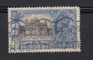 J28327 1935 india part of set hv used #147 golden temple