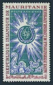 Mauritania C64,MNH.Michel 320. International Atomic Energy Commission,1967.