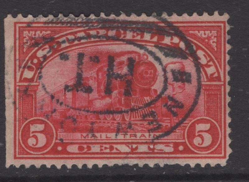 US 1913 Parcel Post 5c Stamp Scott Q5 F