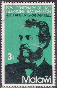 Malawi 281  Century of the Telephone 1976