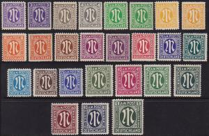 Germany - 1945-46 - Scott #3N1-20 - MNH/mint - AMG issue