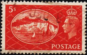 Great Britain. 1951 5s S.G.510 Fine Used