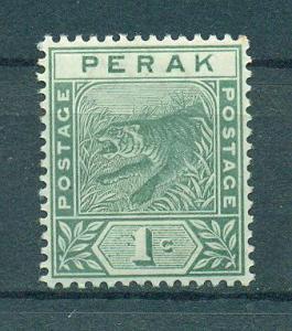 Malaya - Perak sc# 42 (3) mh cat value $2.75