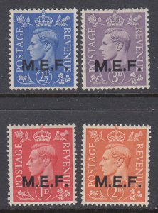 Great Britain Middle East Forces 10-13 MNH VF