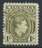 Nigeria  SG 56  SC# 61  Used  Perf 12 1938 Definitive please see scan