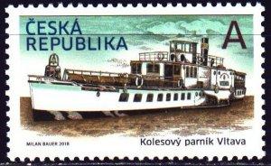 Czech Republic. 2018. 971. Ship. MNH.