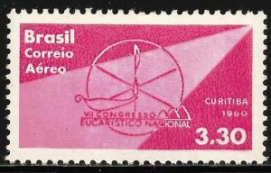 Brazil Air Mail 1960 Scott# C99 MNH