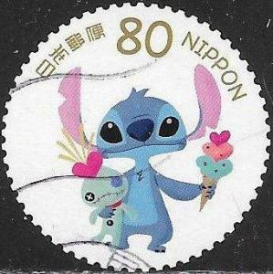 Japan 3494i Used - Disney Characters - Stitch (626)