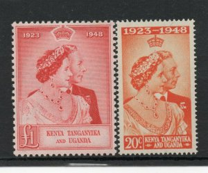 Kenya Silver Wedding superb MNH condition clear gum and no marks.