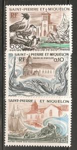 St Pierre & Miquelon SC 436-8 MNH