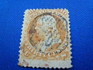 UNITED STATES, 1861 SCOTT #71 -  USED